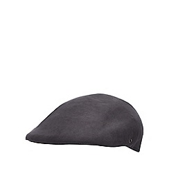 The Collection - Blue textured flat cap