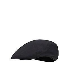 6f2bb88a0d9 J by Jasper Conran - Black waterproof flat cap