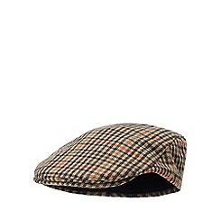 Hammond & Co. by Patrick Grant - Multicoloured 'Country Tweed' flatcap