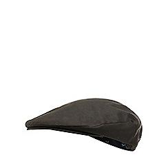 Hammond & Co. by Patrick Grant - Dark green waxed flat cap