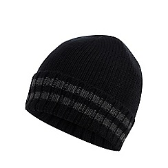 Maine New England - Black tipped thermal knit beanie