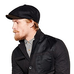 Daniel Rynne - Grey wool rich baker boy hat
