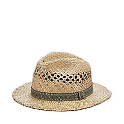 Mantaray - Natural Aztec Straw Hat