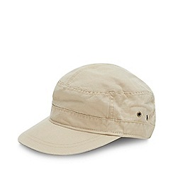 Mantaray - Natural Buckle Train Driver Hat