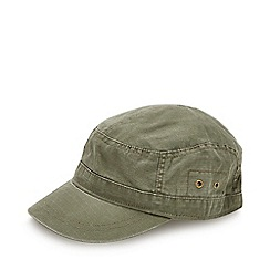 Mantaray - Khaki Buckle Train Driver Hat 940e48985d9e