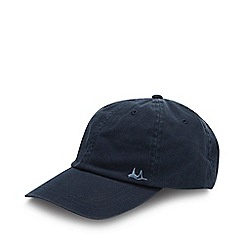 Mantaray - Navy Washed Cotton Baseball Cap