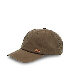 Mantaray - Khaki Washed Cotton Baseball Cap
