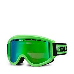 Bloc - Green 'Aero A010' ski goggles
