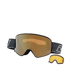 Dirty Dog - Black 'Mutant Legacy 0.5' ski goggles