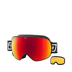 Dirty Dog - Black 'Mutant Legacy 2.0' ski goggles