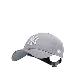 e28d78ec98d New Era - Grey Logo Baseball Cap