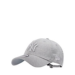 New Era - Grey Embroidered Logo Jersey 'New York Yankees' Baseball Cap