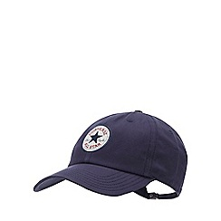 Converse - Navy Logo Patch Cotton Baseball Cap