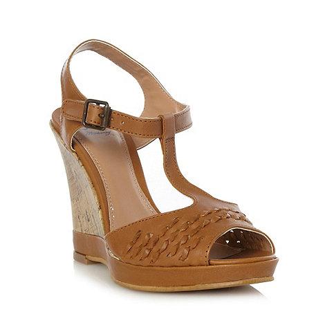 Beige Sandals: Tan Sandals Debenhams