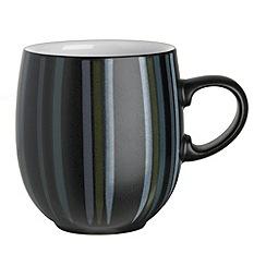 Denby - Black and grey glazed 'Jet' mug