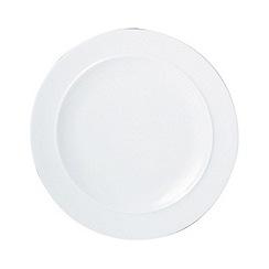 Denby - Glazed 'White' dessert plate