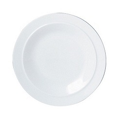 Denby - Glazed 'White' tea plate