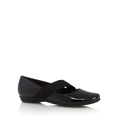 Clarks Shoes Discovery Ritz Black Leather