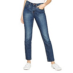 Mantaray - Blue 'Brighton' dark-wash skinny denim jeans