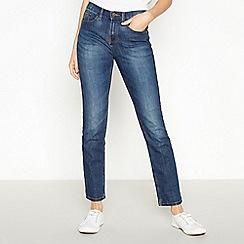 Mantaray - Dark blue dark wash denim 'Brighton' regular fit skinny jeans