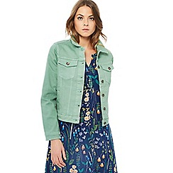 Mantaray - Light green denim jacket