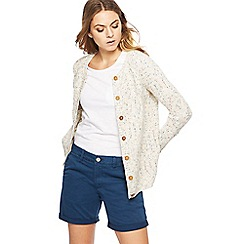 Mantaray - Cream knitted cardigan