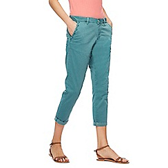 Mantaray - Light turquoise girlfriend chinos