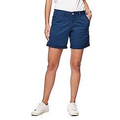 Mantaray - Navy chino shorts