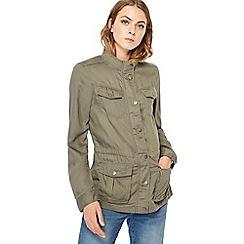 Mantaray - Khaki four pocket jacket