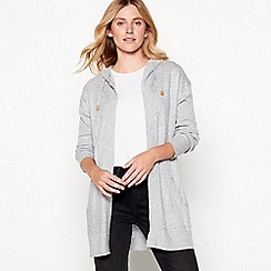 Mantaray - Grey knitted cardigan