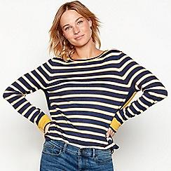 Mantaray - Mustard stripe knit jumper