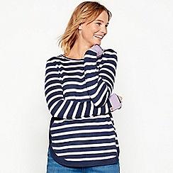 Mantaray - Purple stripe knit jumper
