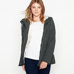 Mantaray - Khaki rose showerproof hooded jacket