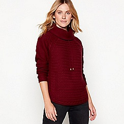 Mantaray - Red wool blend knitted jumper
