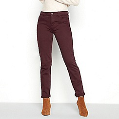 Mantaray - Purple cotton blend 'Croyde' slim leg jeans