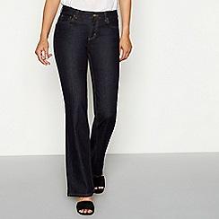 Mantaray - Dark blue denim bootcut jeans