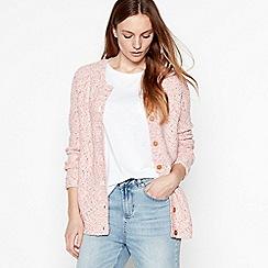 Mantaray - Pink flecked cardigan