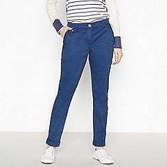 Mantaray - Navy Cotton Stretch Chino Trousers