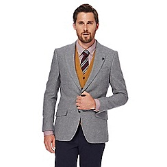 Hammond & Co. by Patrick Grant - Big and tall light grey wool blend blazer