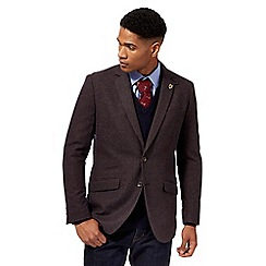 Hammond & Co. by Patrick Grant - Brown hounds tooth wool blend jacket