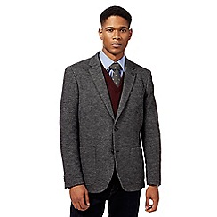Hammond & Co. by Patrick Grant - Big and tall grey hounds tooth jacket with wool