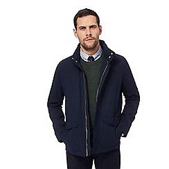 Hammond & Co. by Patrick Grant - Big and tall navy harrington jacket