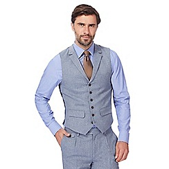 Hammond & Co. by Patrick Grant - Big and tall blue pinstripe waistcoat