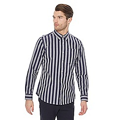 Hammond & Co. by Patrick Grant - Big and tall navy striped shirt