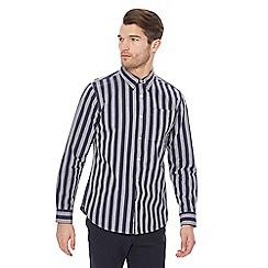 Hammond & Co. by Patrick Grant - Navy striped shirt