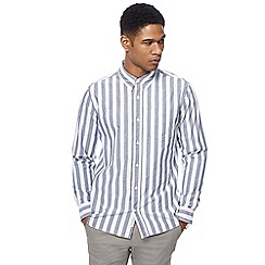 Hammond & Co. by Patrick Grant - White and blue striped shirt