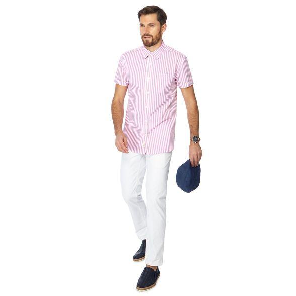 cream pink short Grant Co shirt and Big sleeve ice amp; Patrick tall Hammond by stripe TvwxZ8qq