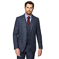 Hammond & Co. by Patrick Grant - Big and tall blue pow check blazer