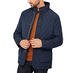 Hammond & Co. by Patrick Grant - Navy fleece lined quilted jacket