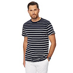 Hammond & Co. by Patrick Grant - Navy striped t-shirt